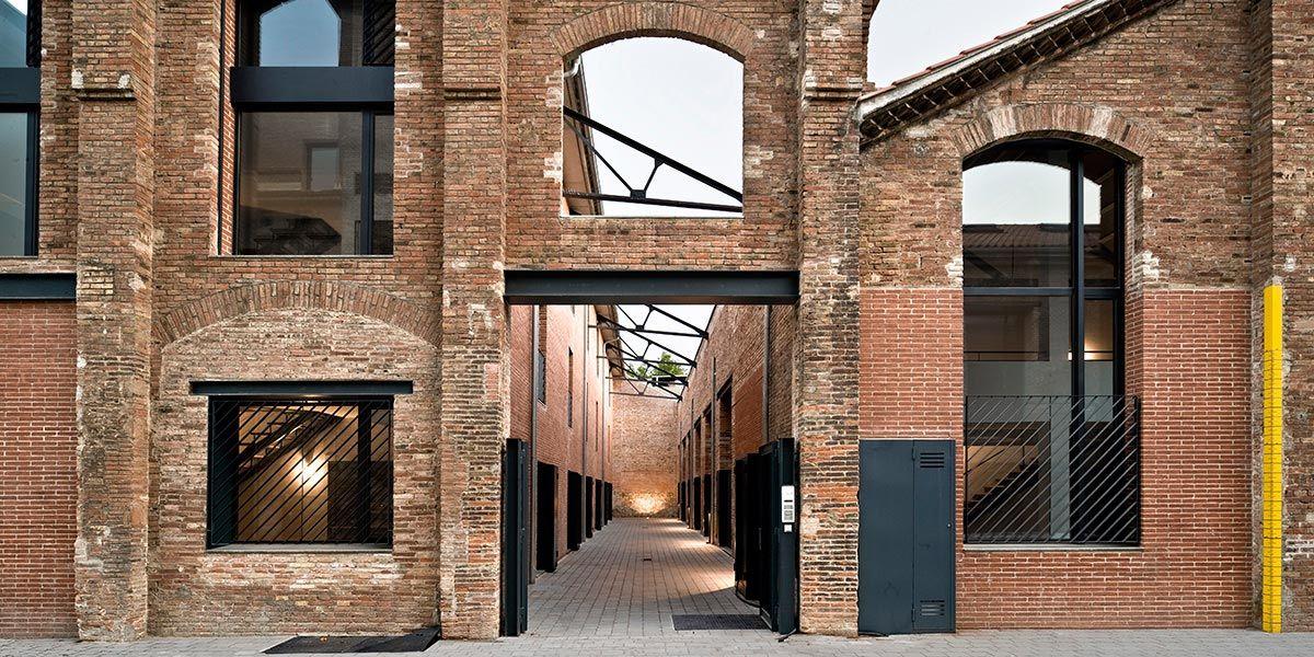 архитектурное здание