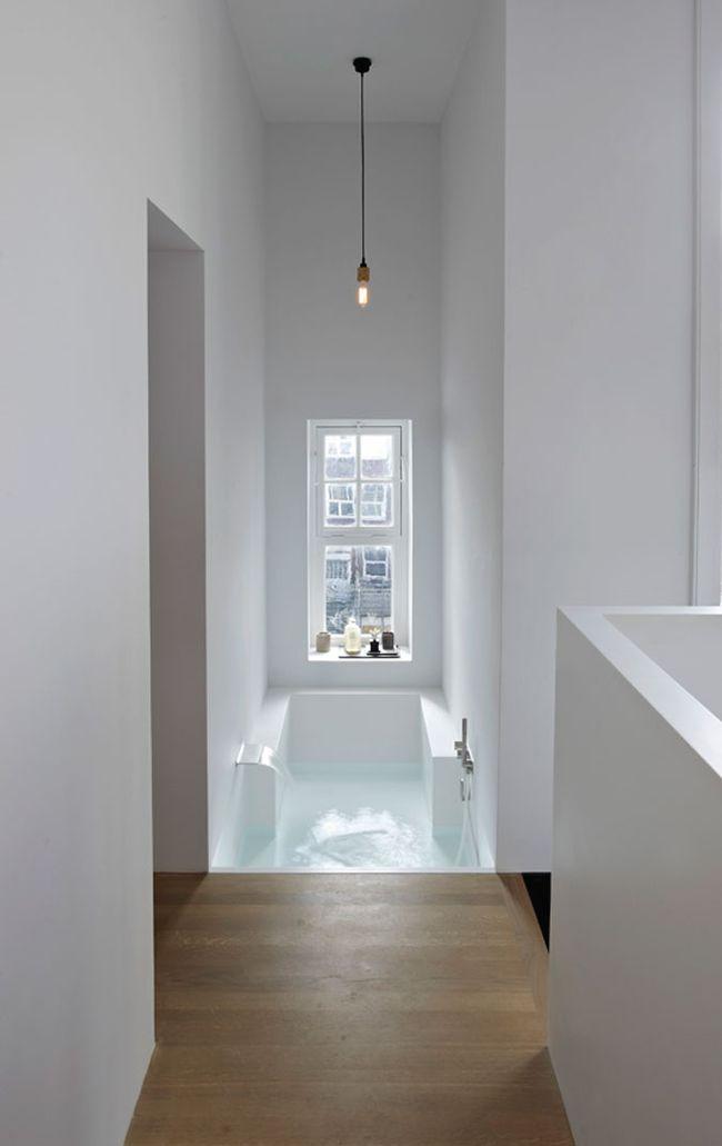 лофт с большой ванной