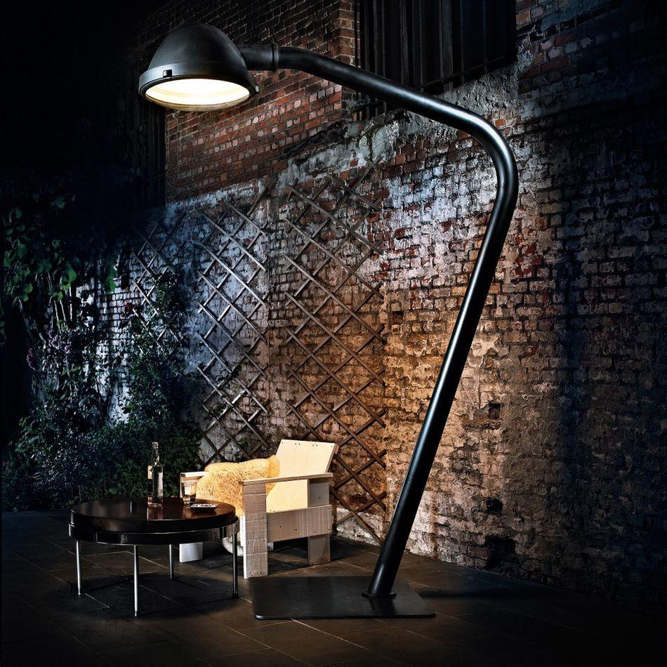 огромный светильник лофт