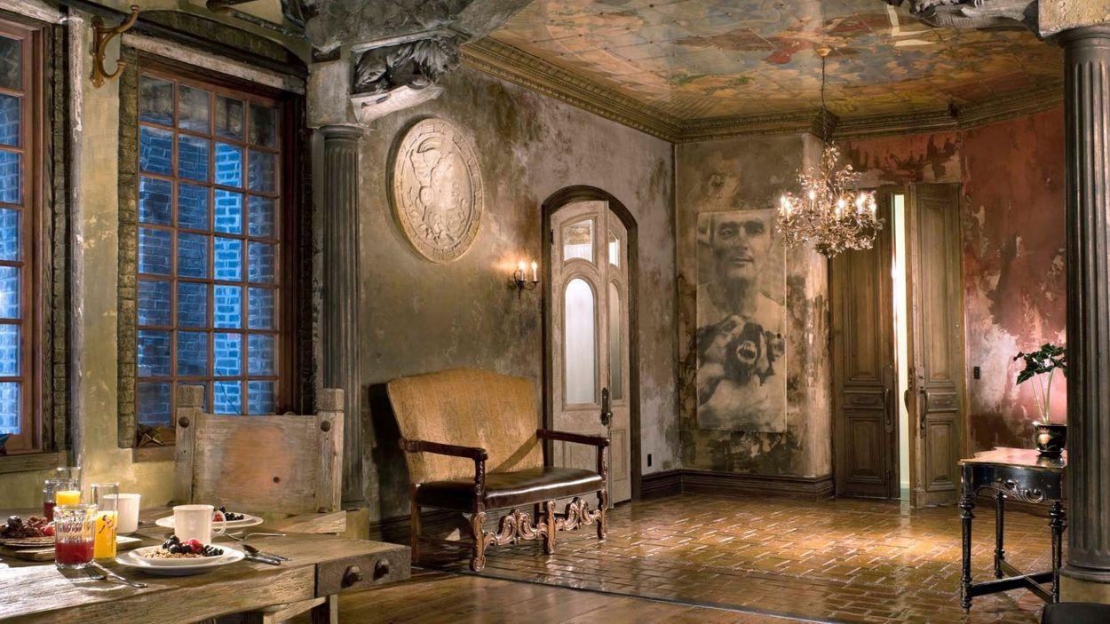 расписные потолки и стены