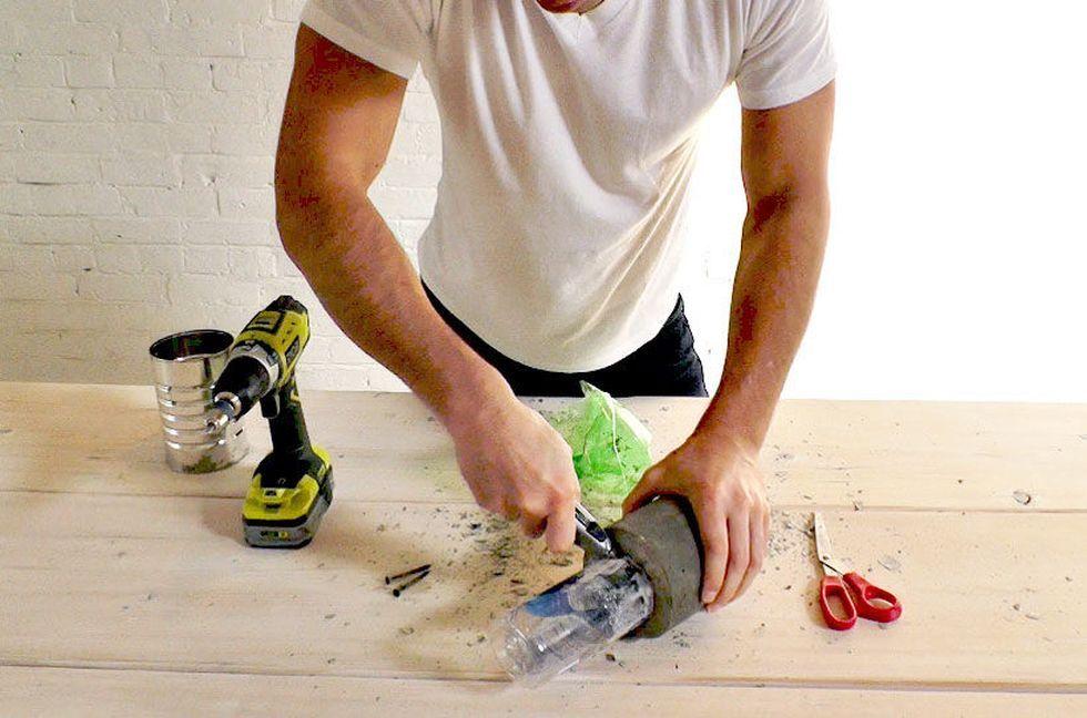 удаляем бутылки из формы
