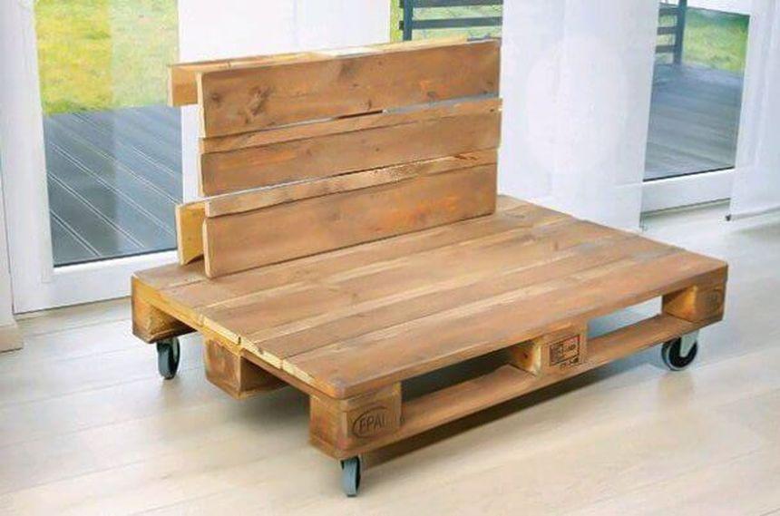 спинка дивана из поддонов