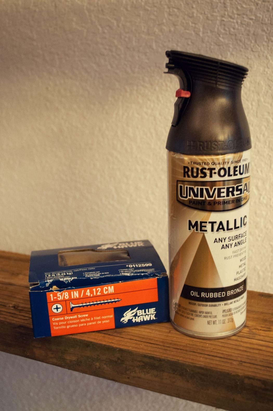 Rust-Oleum с эффектом яркого металлика