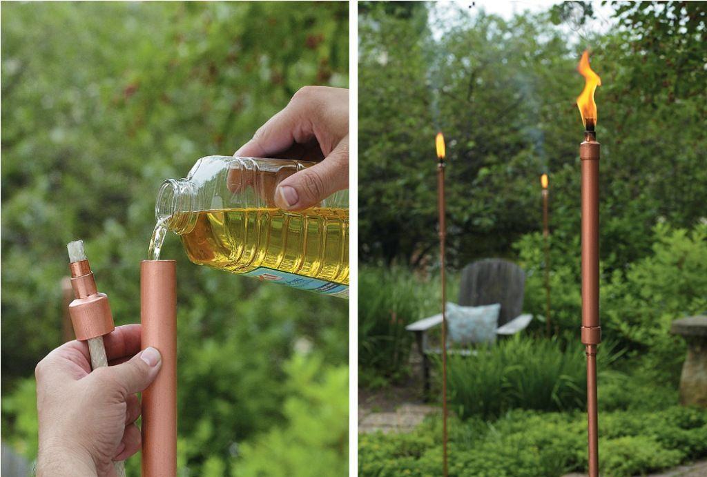 Факелы для вашего дворика