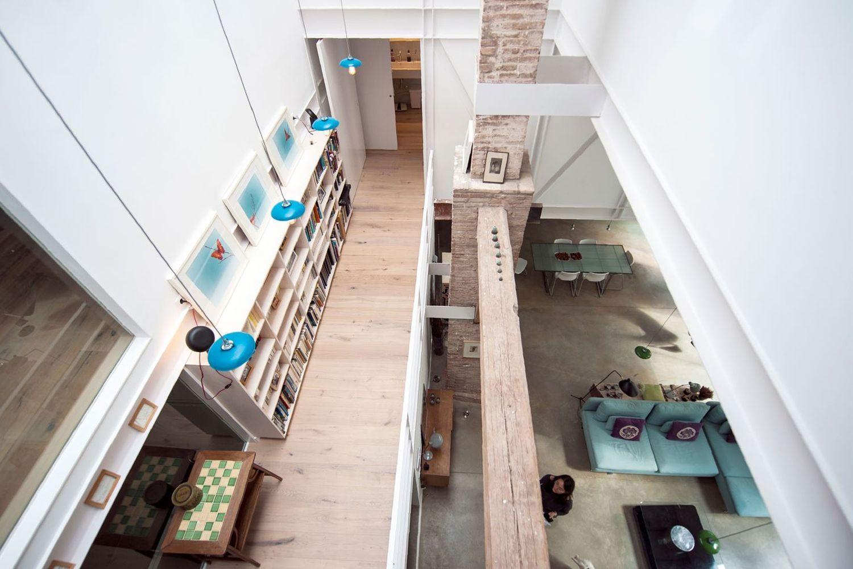 Дом в стиле лофт второй этаж