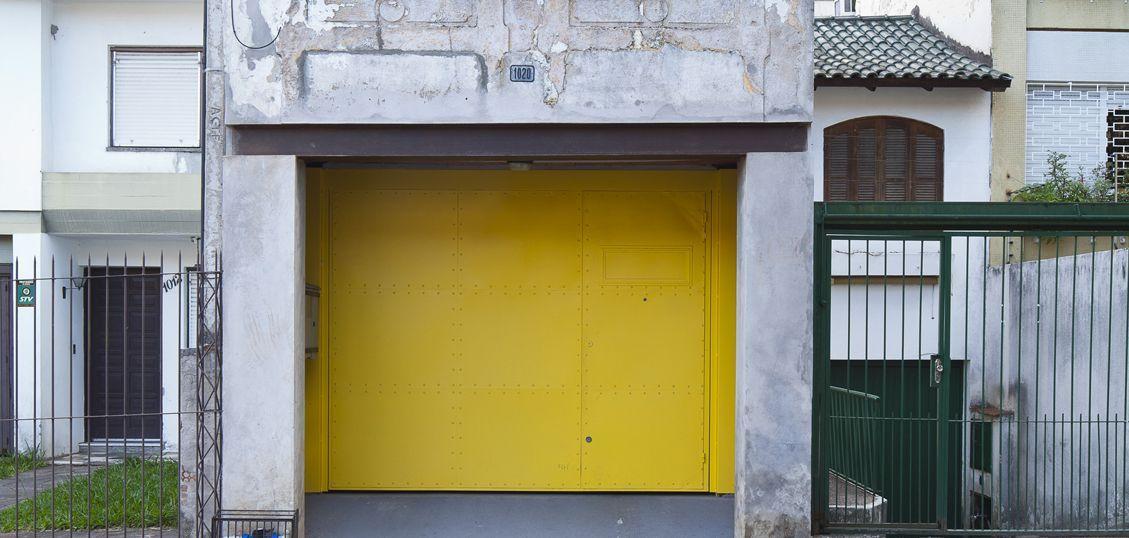 лофт в гараже