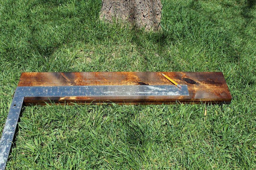 матовый эффект на древесине