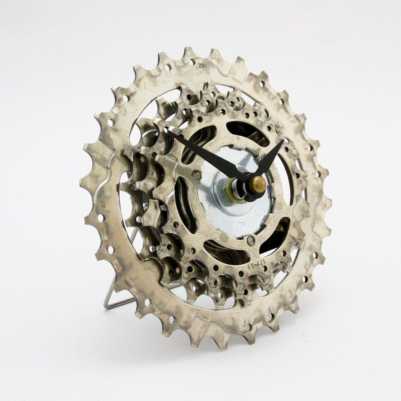 Часы из велосипедной звездочки