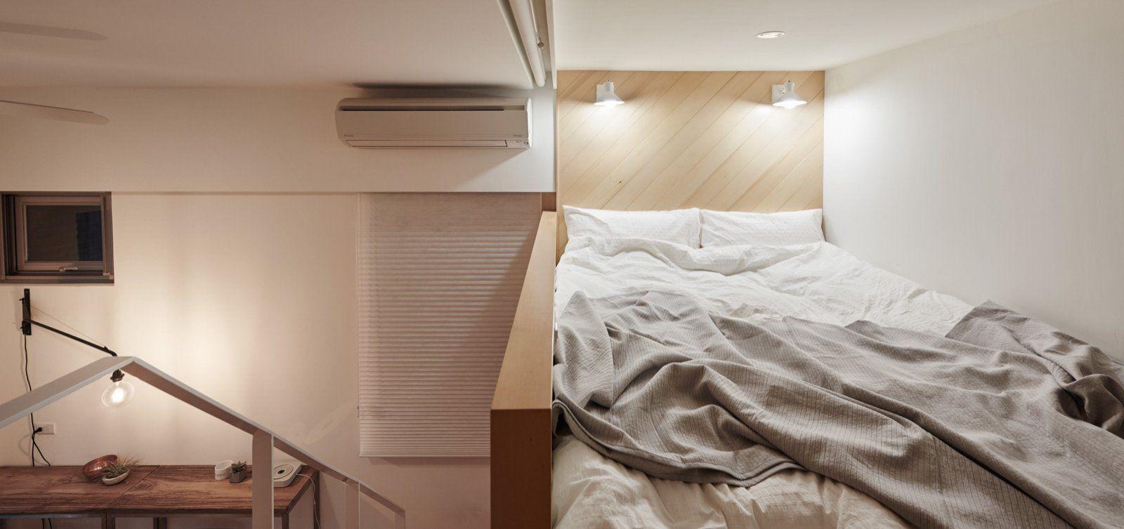 спальная зона на втором уровне