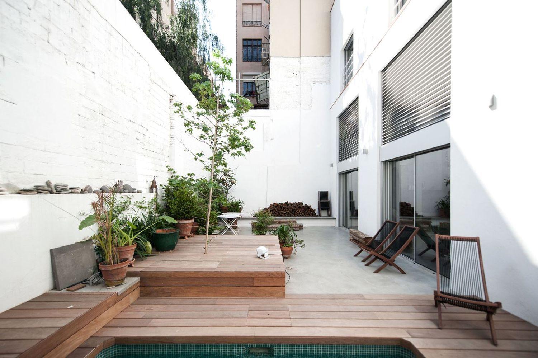 Дом в стиле лофт большая терраса