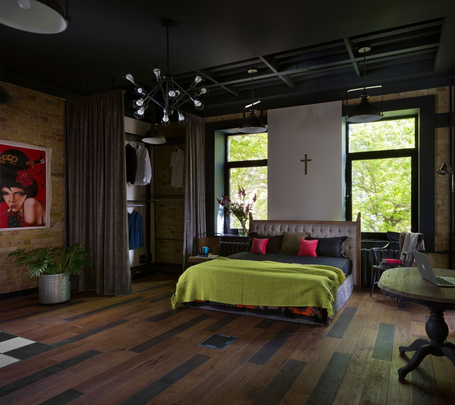 лофт апартаменты от дизайн-студии Юрия Зименко