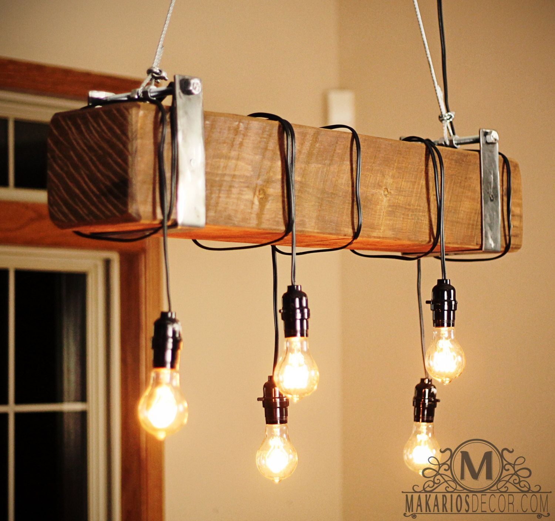 Индустриальная лампа
