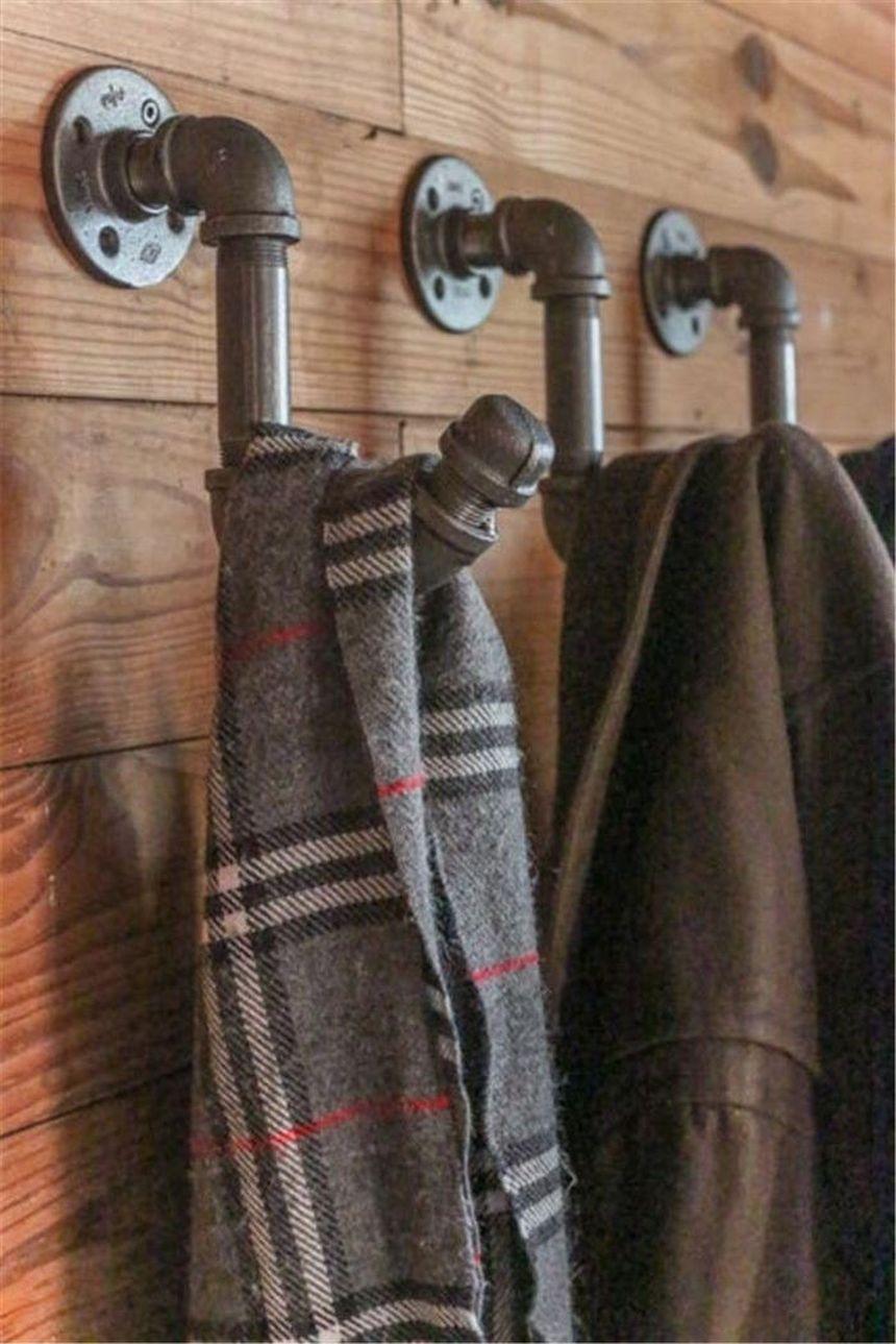 Крючки для одежды своими руками
