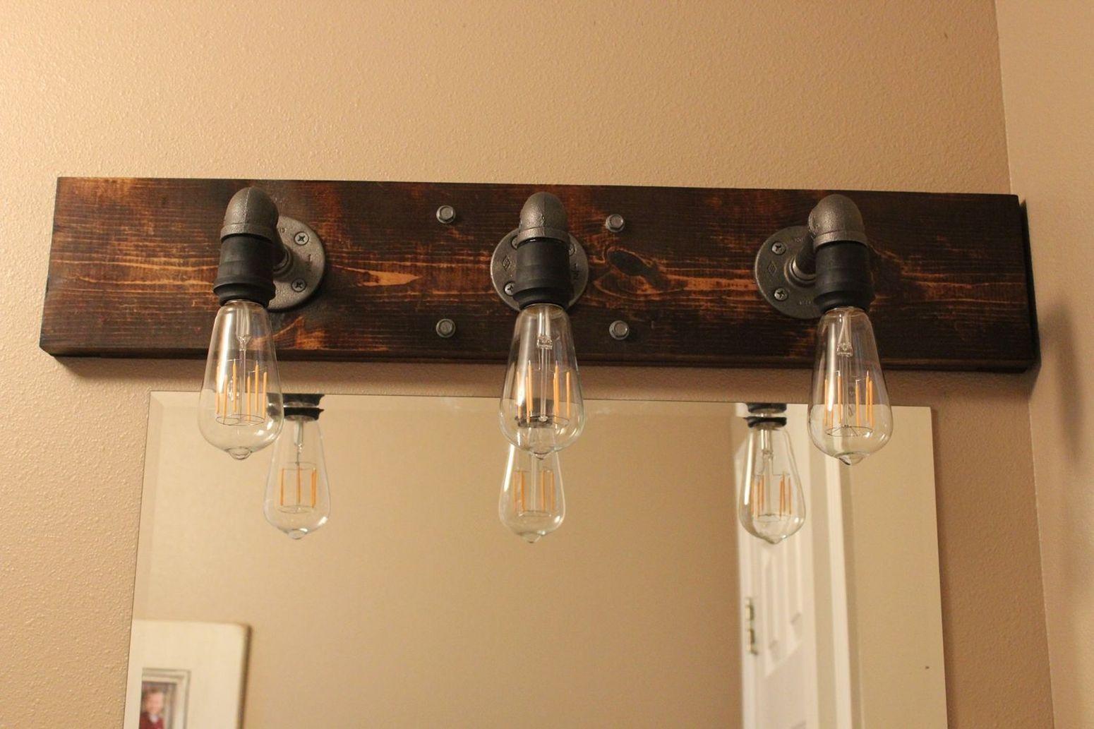 светильник в стиле лофт лампочки эдисона