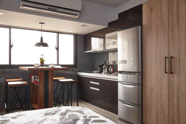 Подростковый лофт. Дизайн маленькой квартиры для молодого человека.