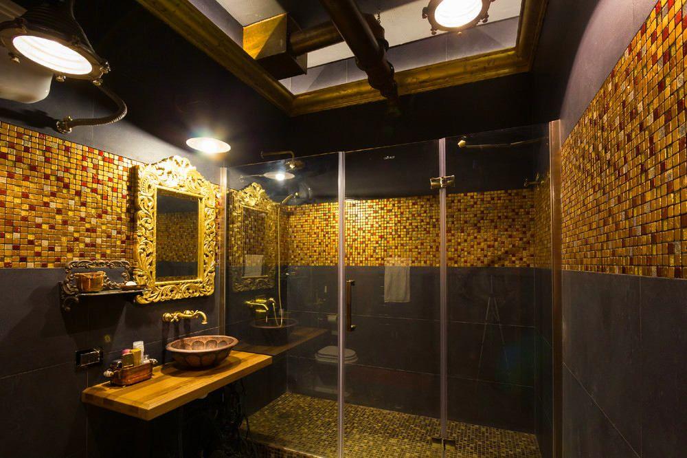 ванная комната мозаика