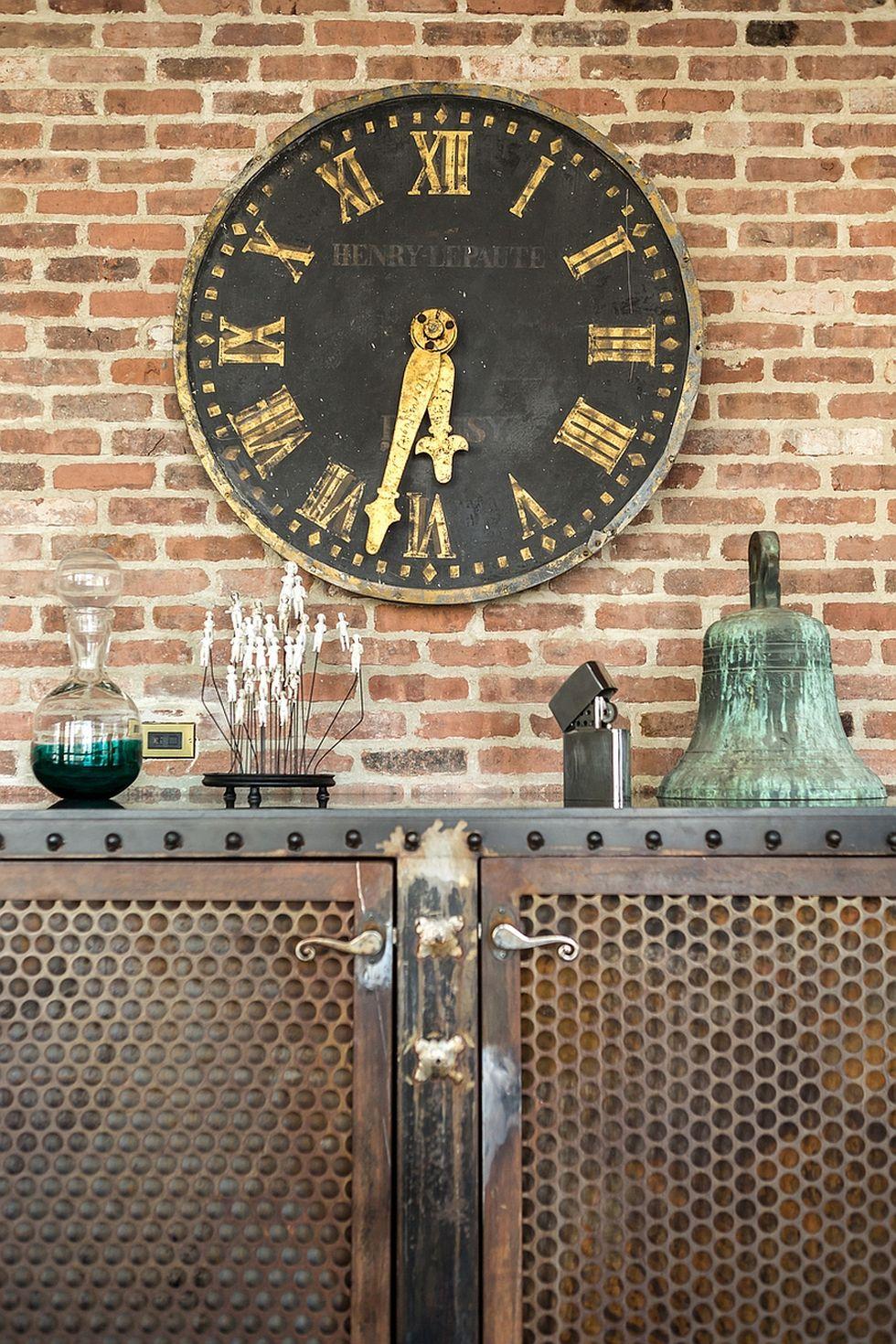 винтажные часы лофт
