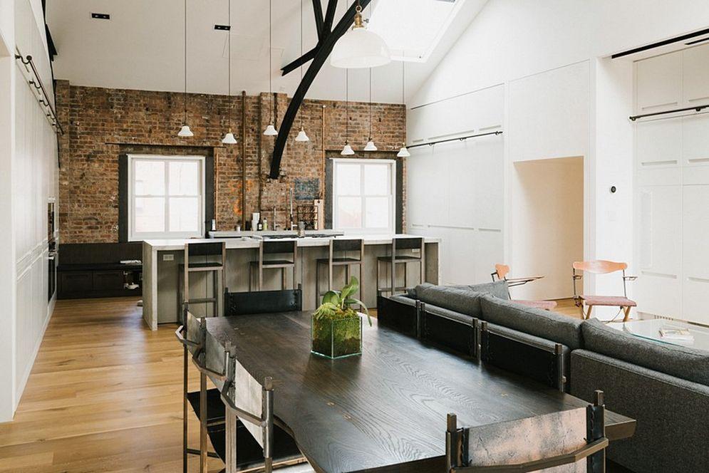 Жилой лофт в одном из самых красивых зданий Нью-Йорка