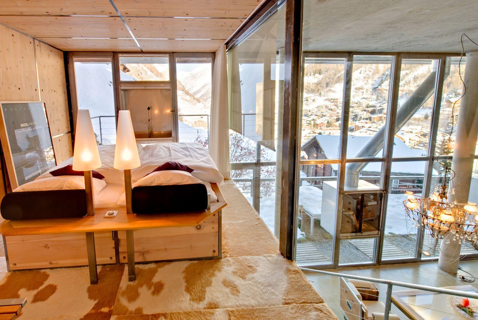 Роскошное лофт шале в самом сердце Швейцарии