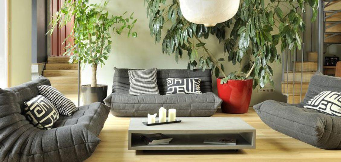 мебель и декоративные предметы из бетона